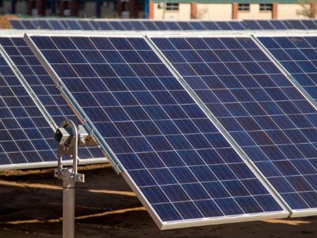 CSIR solar photovoltaic power plant | CSIR