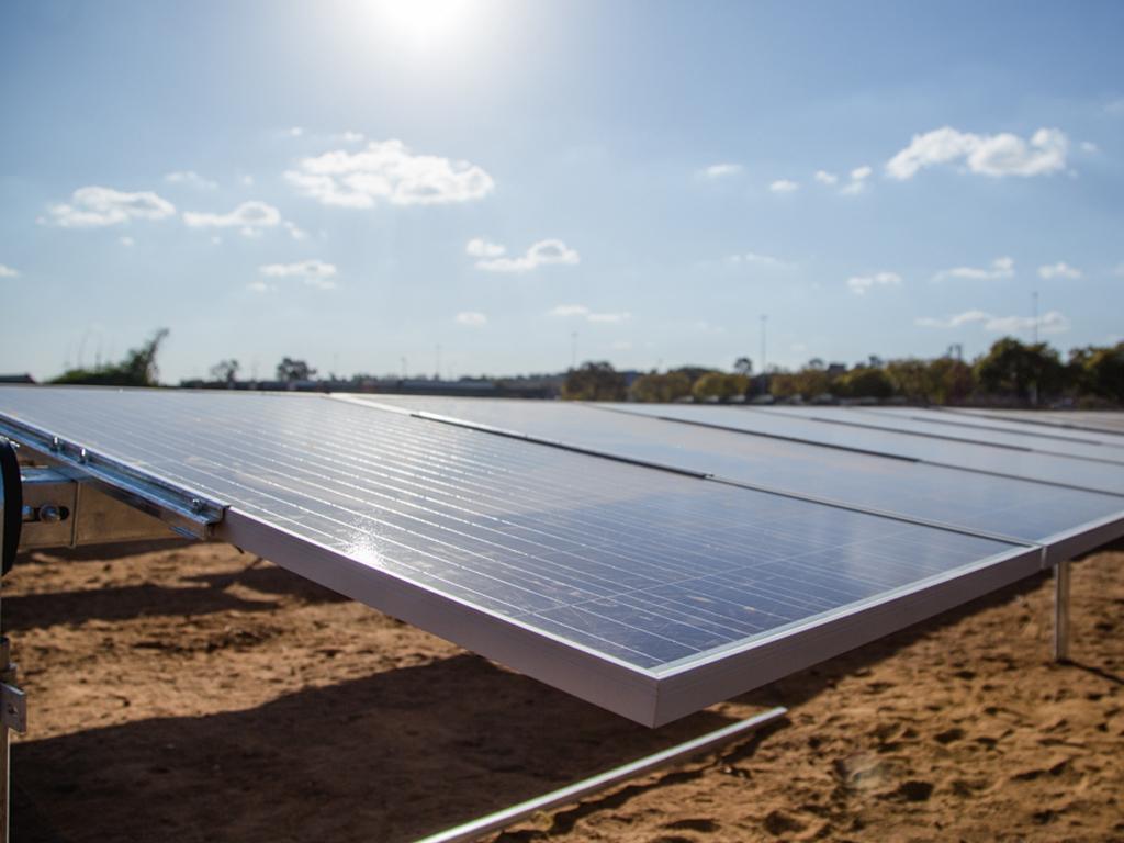 CSIR solar photovoltaic power plant   CSIR